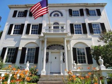 Federal style house 1807 y.b.