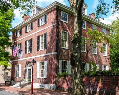 Federal style house 1786 y.b.