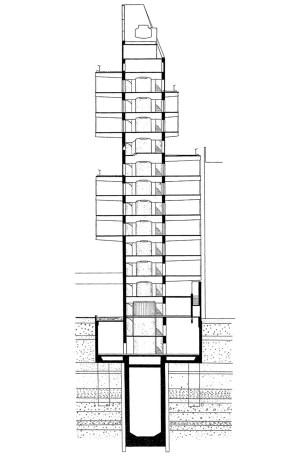 1967 - Shizuoka Tower - Kenzo Tange