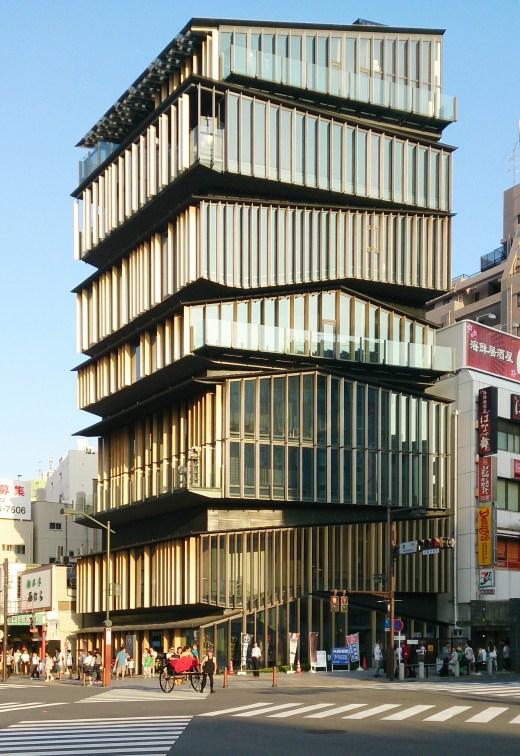 2012 - Asakusa Culture and Tourism Center - Kengo Kuma