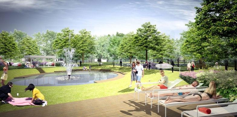 Koncepcja zagospodarowania parku