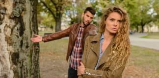 złość mężczyzna i kobieta