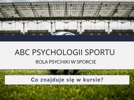 ABC PSYCHOLOGII SPORTU - co w kursie