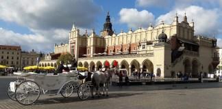 Szczęśliwe wspomnienia z Krakowa.