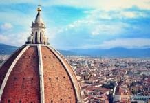 Florencja widok z góry