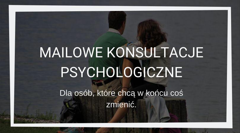 oferta mailowych konsultacji psychologicznych