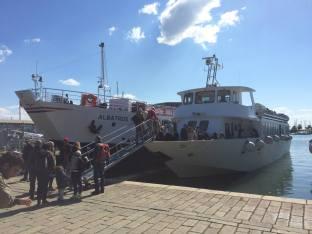 01 traghetto sul molo Italia, La Spezia