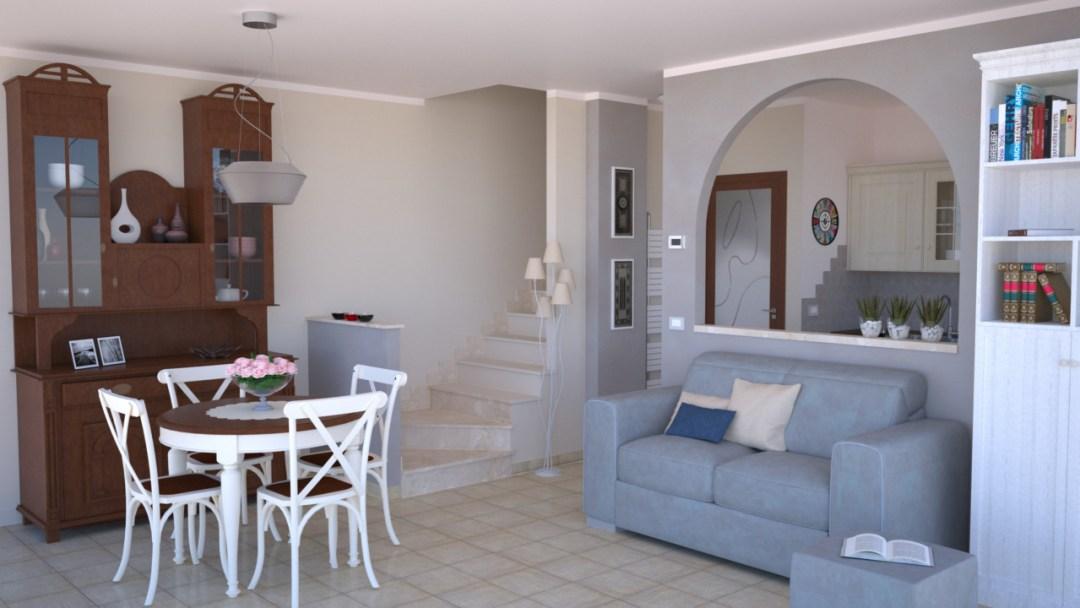 Dove partire per arredare un open space con cucina e soggiorno: Progetto 25 Mq Architettura A Domicilio