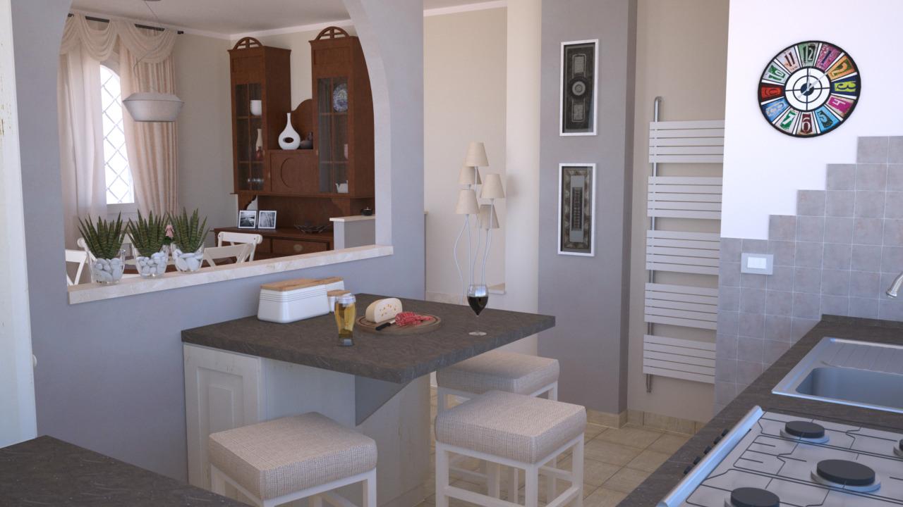 Cucina E Soggiorno Open Space 30 Mq