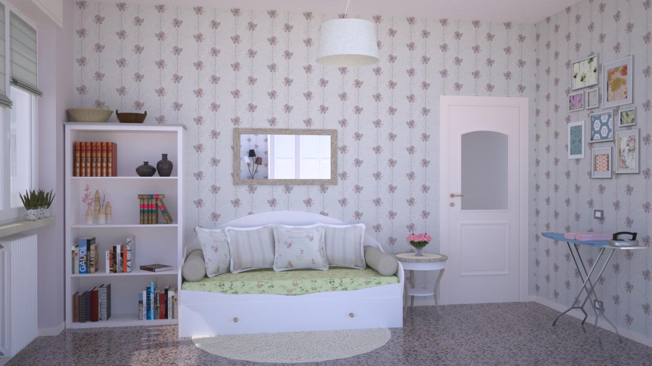 Disegnare Camera Da Letto. Progetto Casa Con Misure Con Beautiful ...