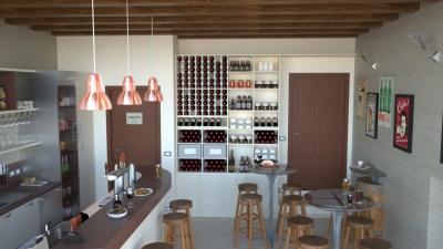 Progetto-online-25 mq-wine-bar-punto-vendita-azienda-agricola