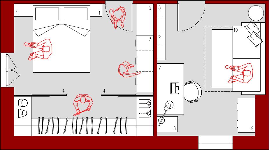 Progetto 27 Mq Architettura A Domicilio