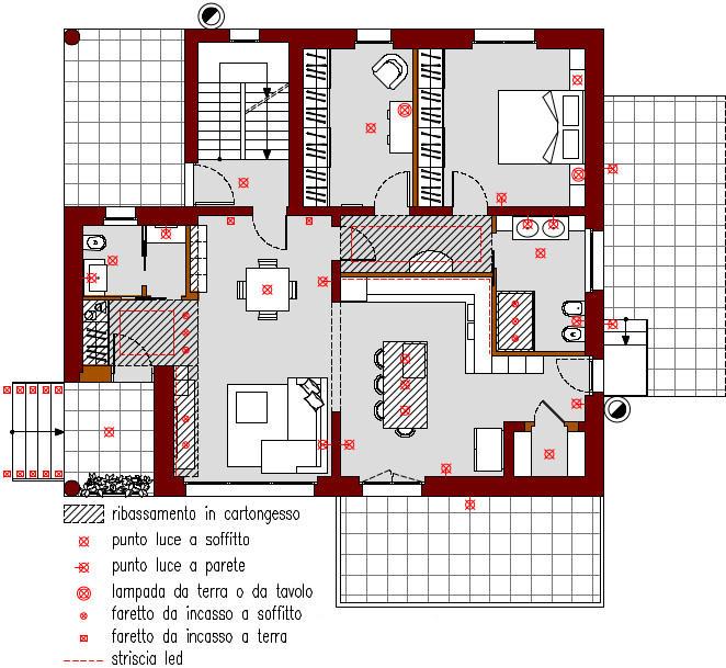 progetto-online-280-mq-zona-giorno-open-space-cucina-isola-planimetria-schema-punti-luce-casa-indipendente-piano-terra