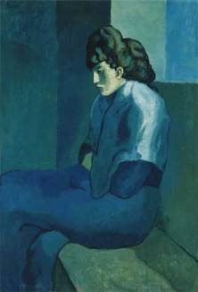 Pablo Picasso, Femme assise credit: By Pablo Picasso - The Detroit Museum of Art, PD-US, https://en.wikipedia.org/w/index.php?curid=40528007