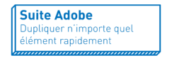 Suite Adobe | Dupliquer n'importe quel élément rapidement