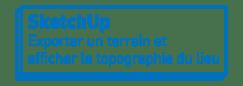 SketchUp | Exporter un terrain et afficher la topographie du lieu