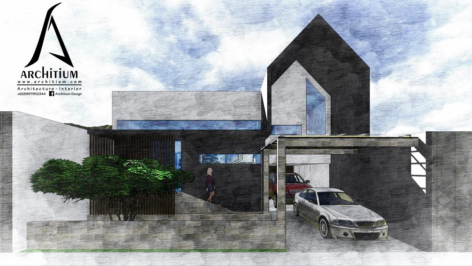 Architecture-House-Jakarta-Cijantung-Rumah Cijantung