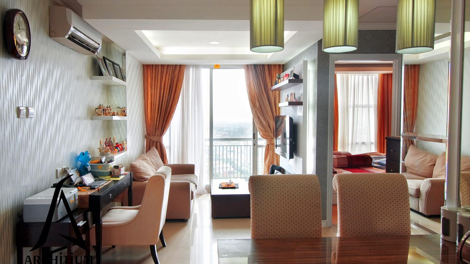 Interior-Apartment-Jakarta-Pluit-Living Room-01