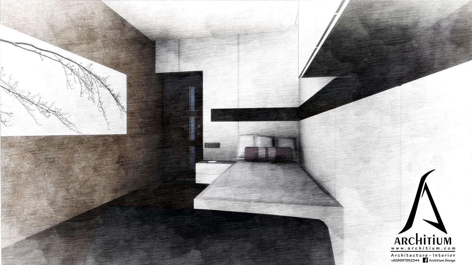 Interior-Apartment-Jakarta-Regatta-Bedroom B 1s