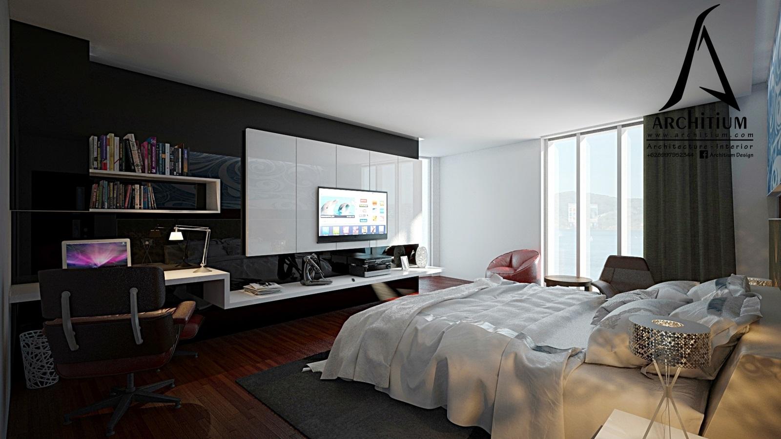 Interior Design, Desain Interior, Kamar, Kamar tidur, bedroom, apartment