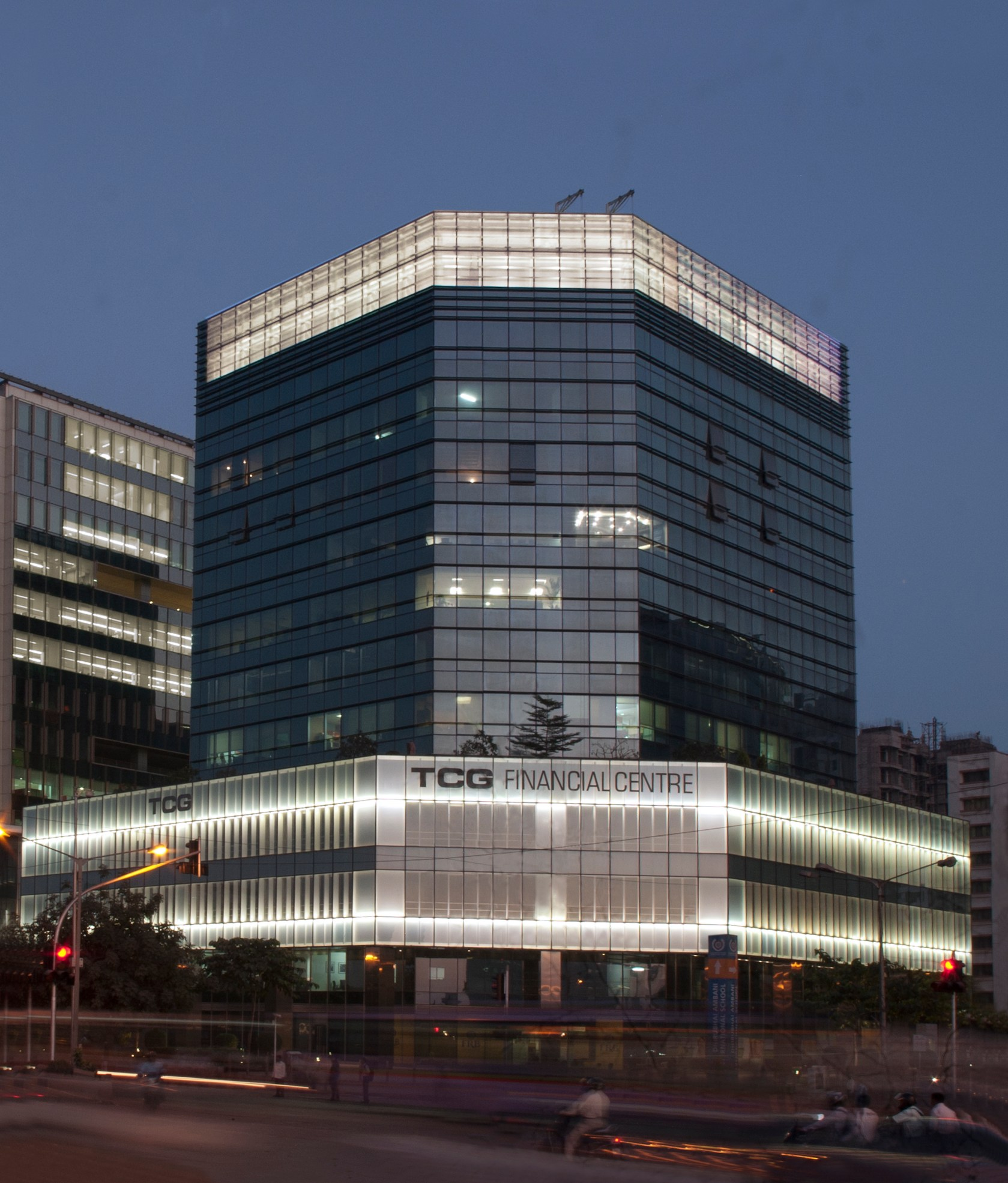 Tcg Financial Centre - Architizer