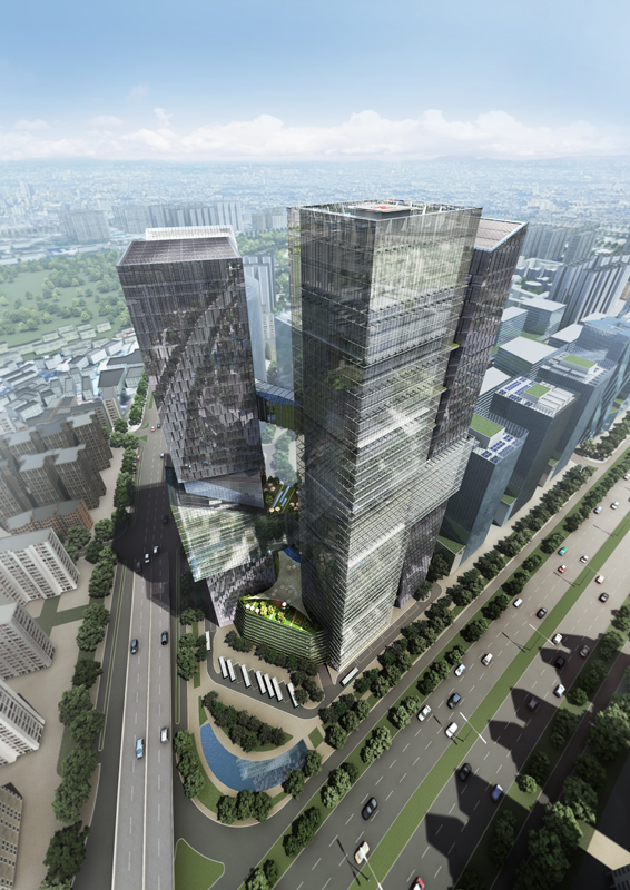 Tencent Headquarters Architizer
