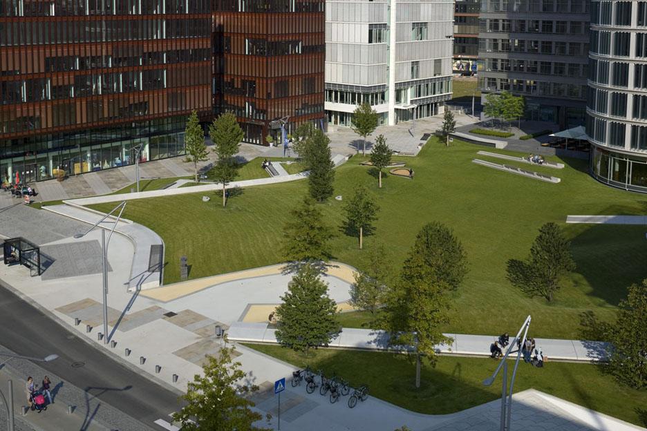 Hafencity Public Spaces Architizer