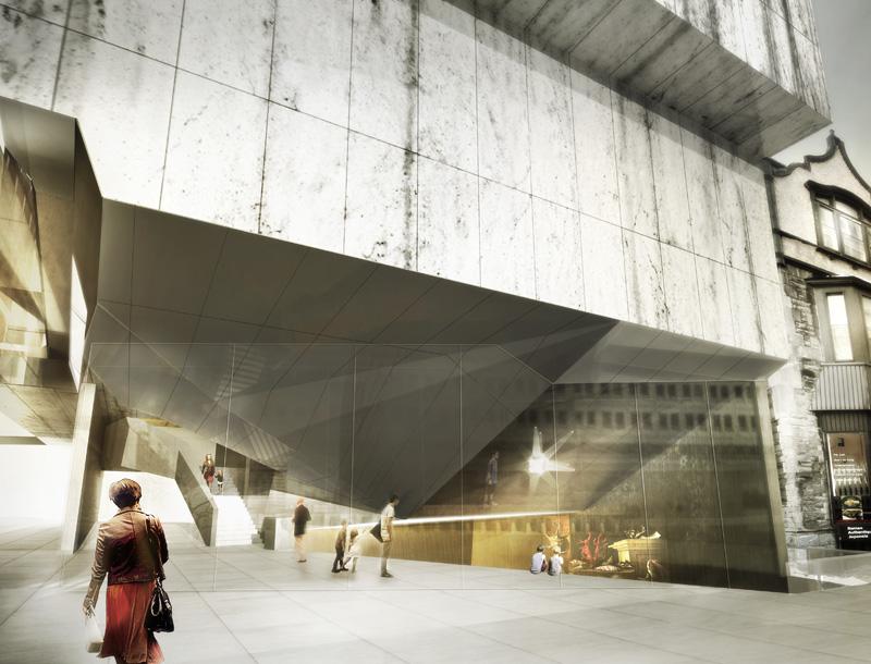 Montreal Museum Of Fine Arts Pavilion Competition Finalist Proposal - Architizer