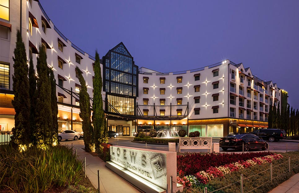 Loews Santa Monica Beach Hotel - Architizer