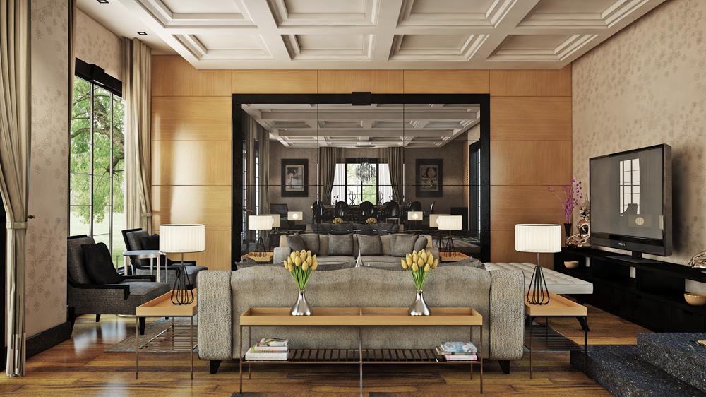 Classic Home Interior Design Living Rooms