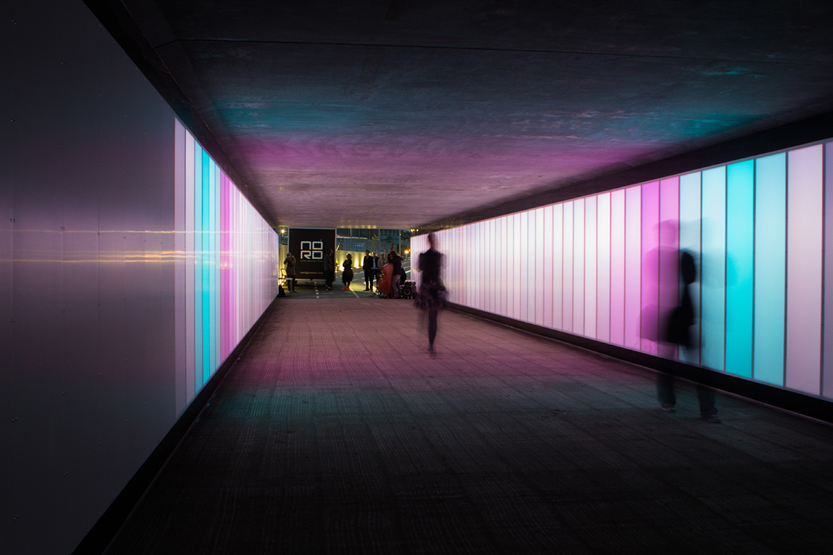 Interference An Interactive Tunnel Architizer