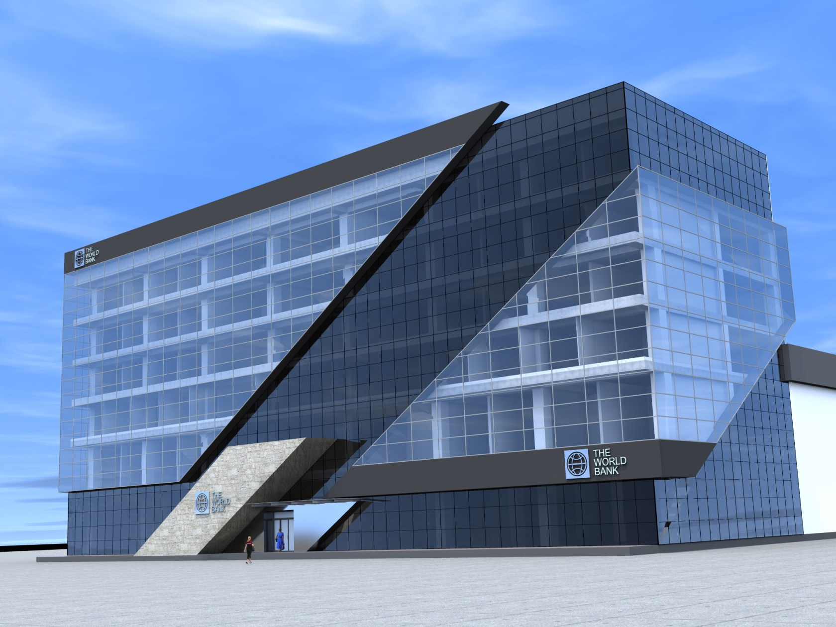 World Bank - Facade Design Architizer