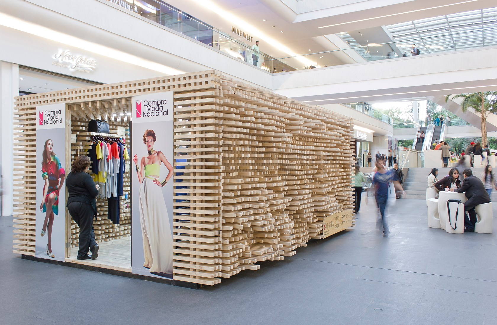 CMN Pop Up Store  Architizer