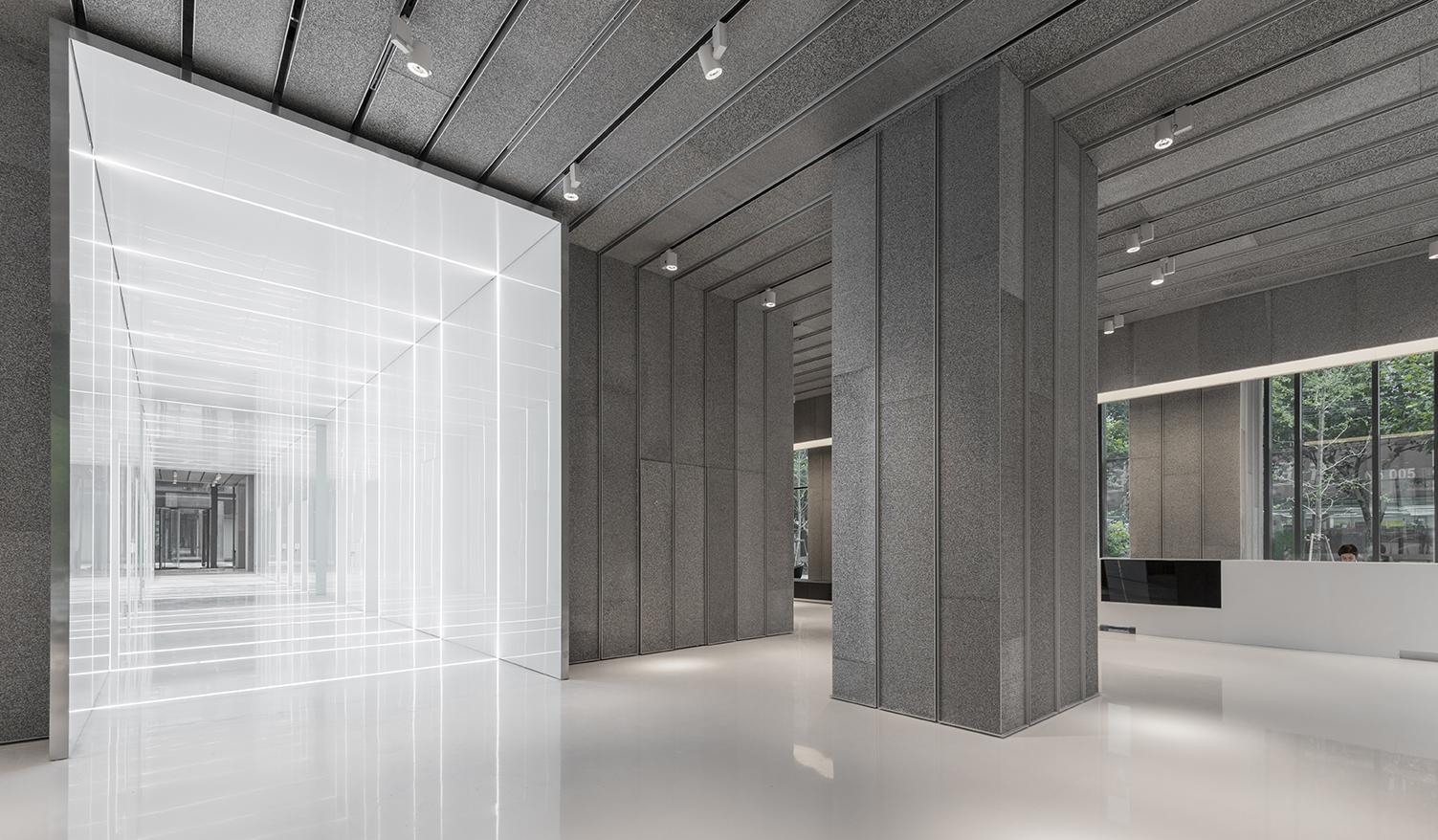 Aluminum Lobby In Soho Fuxing Plaza - Architizer