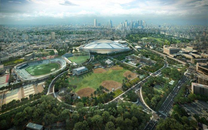 Строительные работы на стадионе для Токийской Олимпиады и Паралимпиады завершены