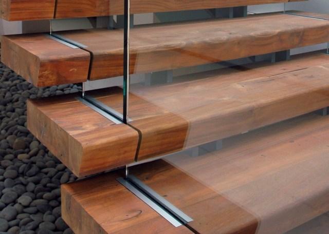 Reclaimed Wood Stair Treads From Terramai Reclaimed Woods Architizer   Reclaimed Wood Stair Treads   White Oak   Wood Plank   Straight Edge Wood   Lumber   Adhesive Padding 31 Wide Tread Single 10 Deep