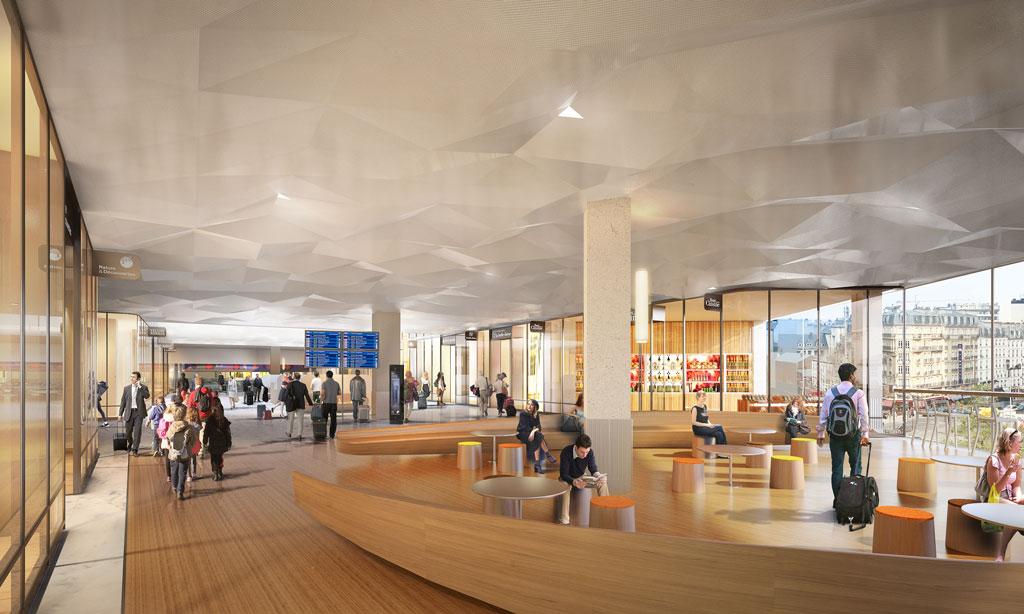 Gare Montparnasse - Paris Train Station Architizer