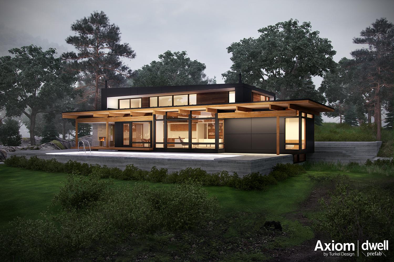 Axiom Dwell Prefab Series - Architizer