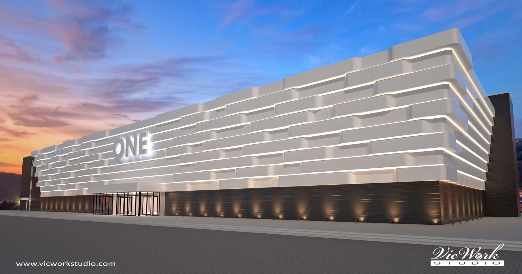 4 Concept Design Of Shopping Mall Facade - Architizer