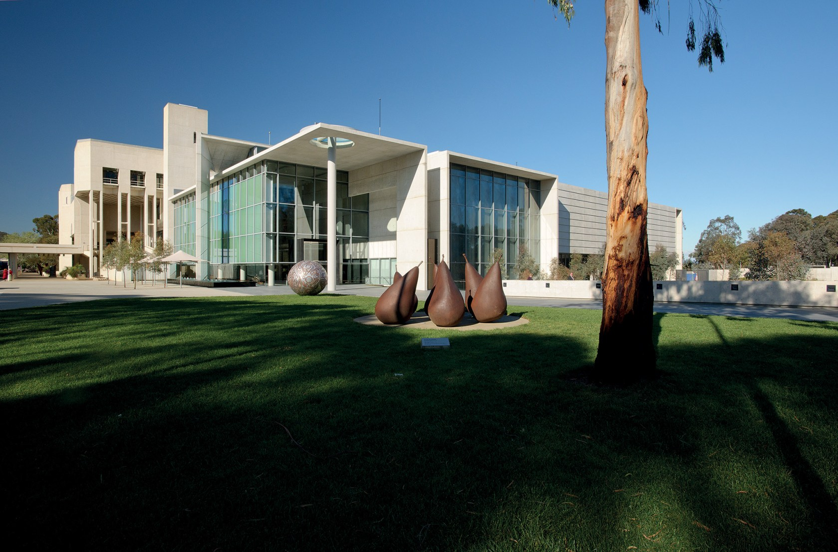National Of Australia South Entrance And
