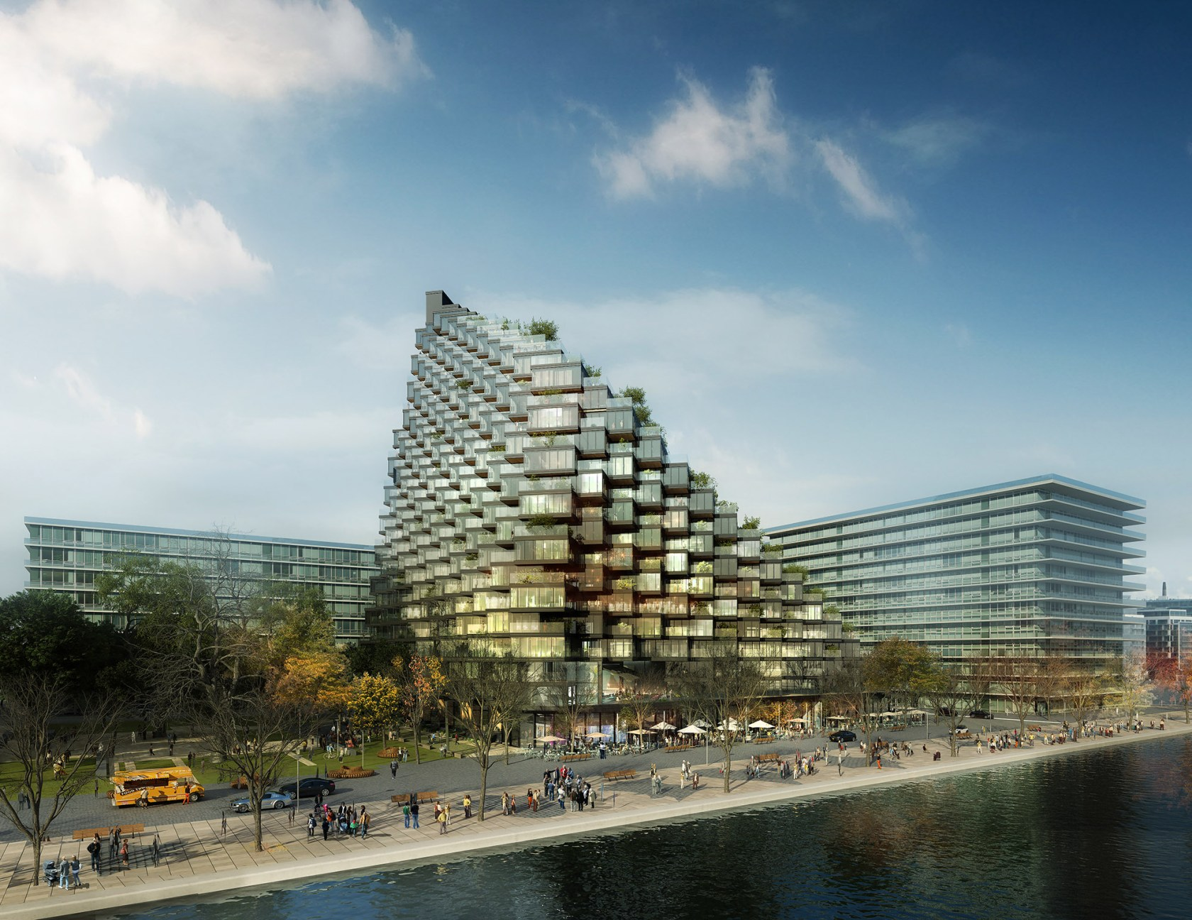 Merchant's Wharf Architizer