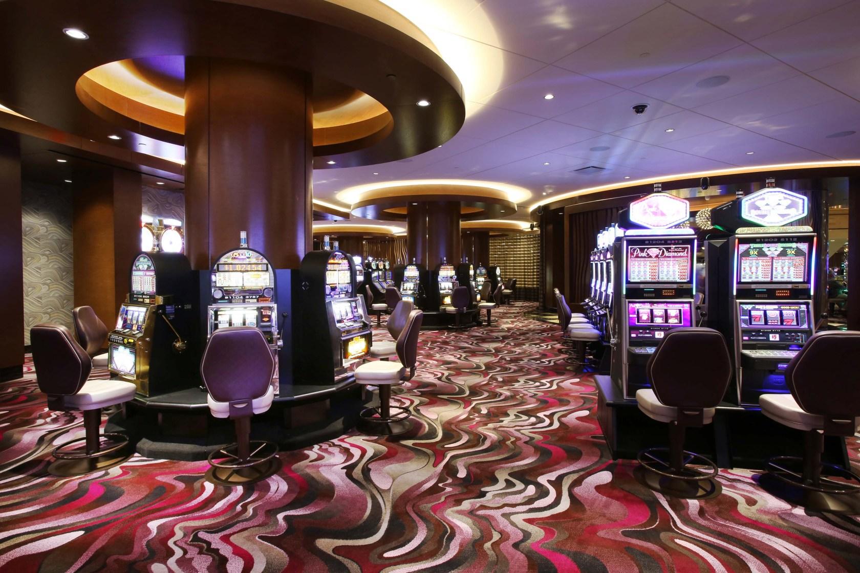 Tropicana High-limit Slot Room - Architizer