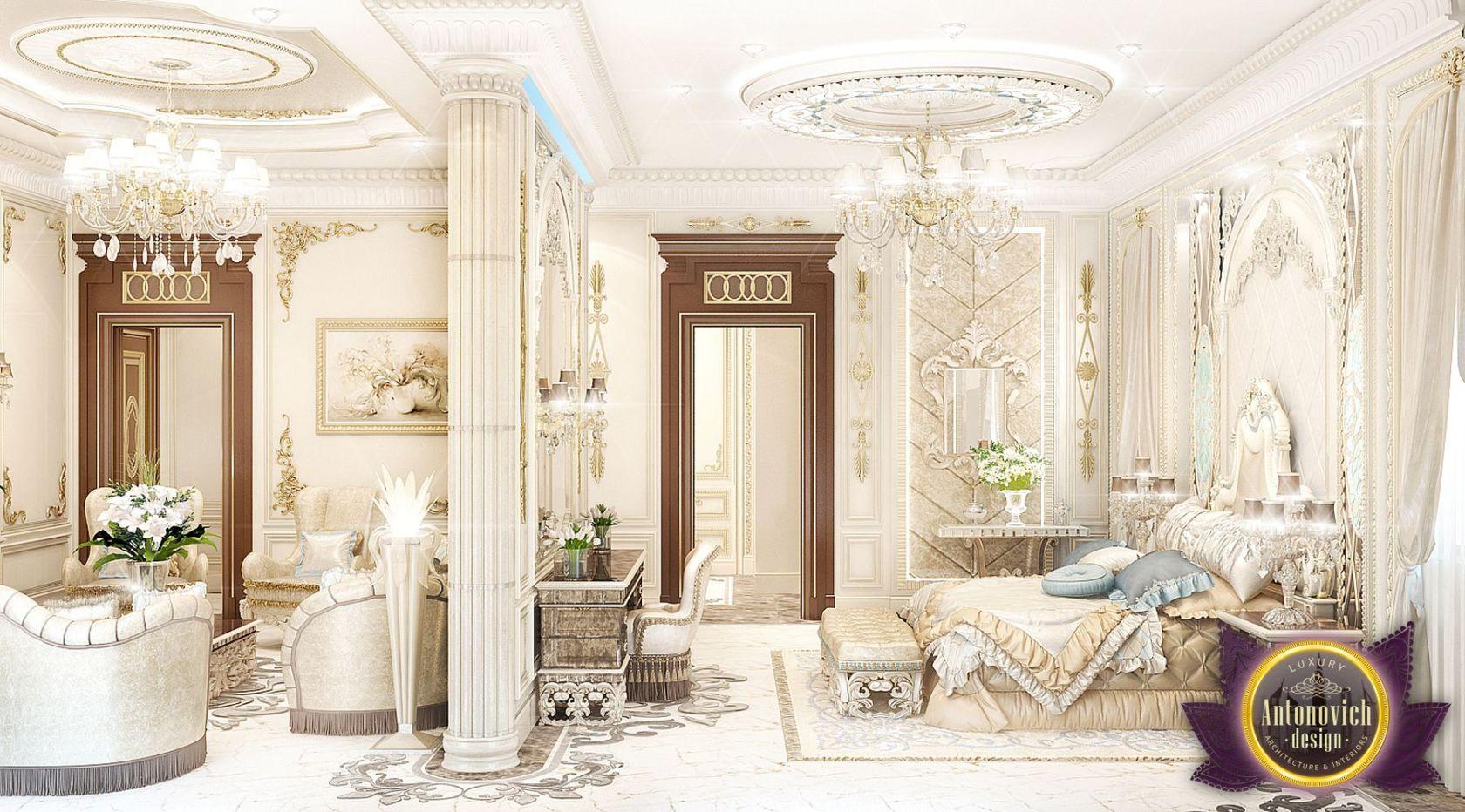 luxurious arabic style bedroom Luxury Royal Arabic Master Bedroom of Luxury Antonovich