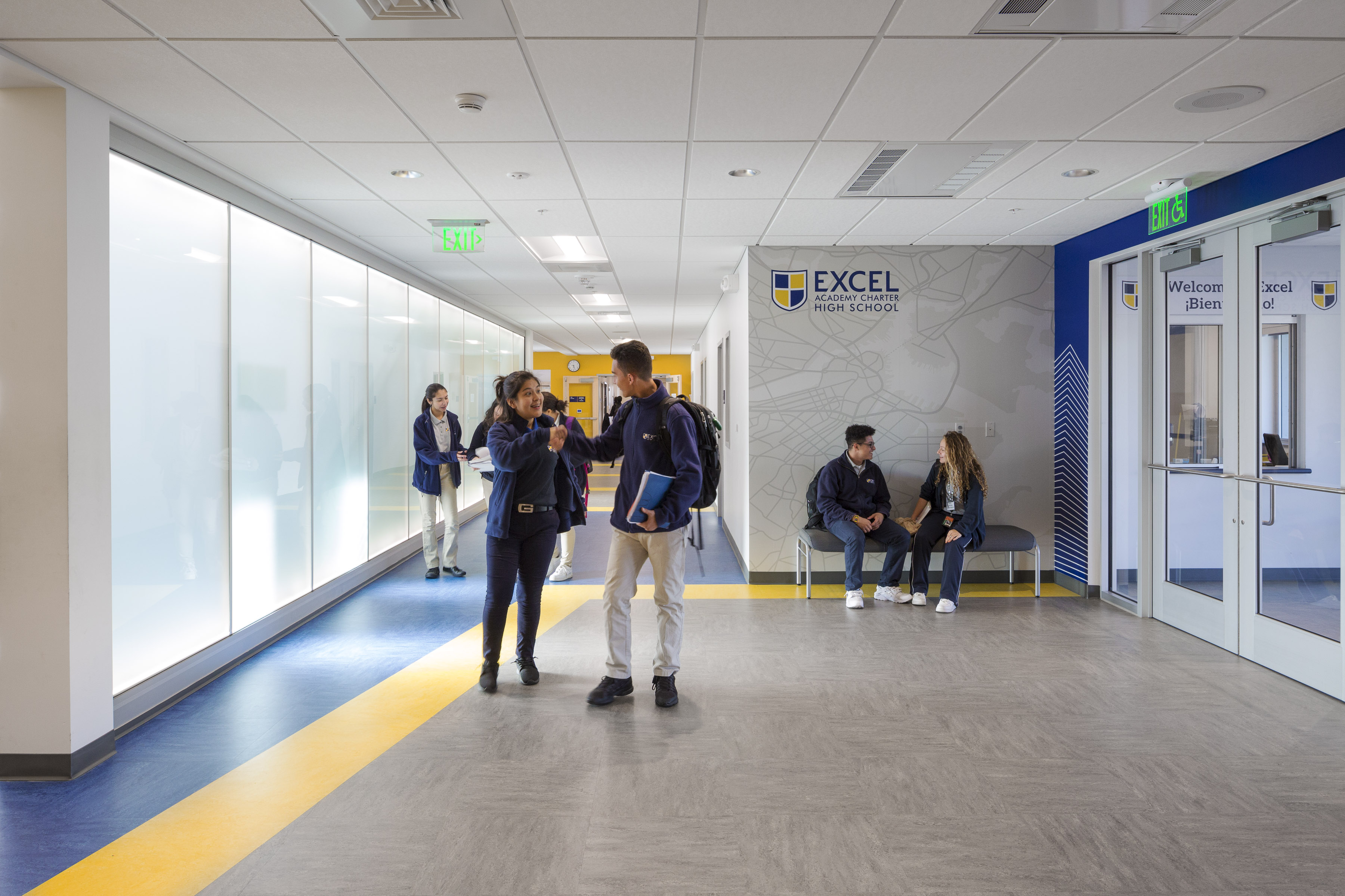 also excel academy charter high school on architizer rh