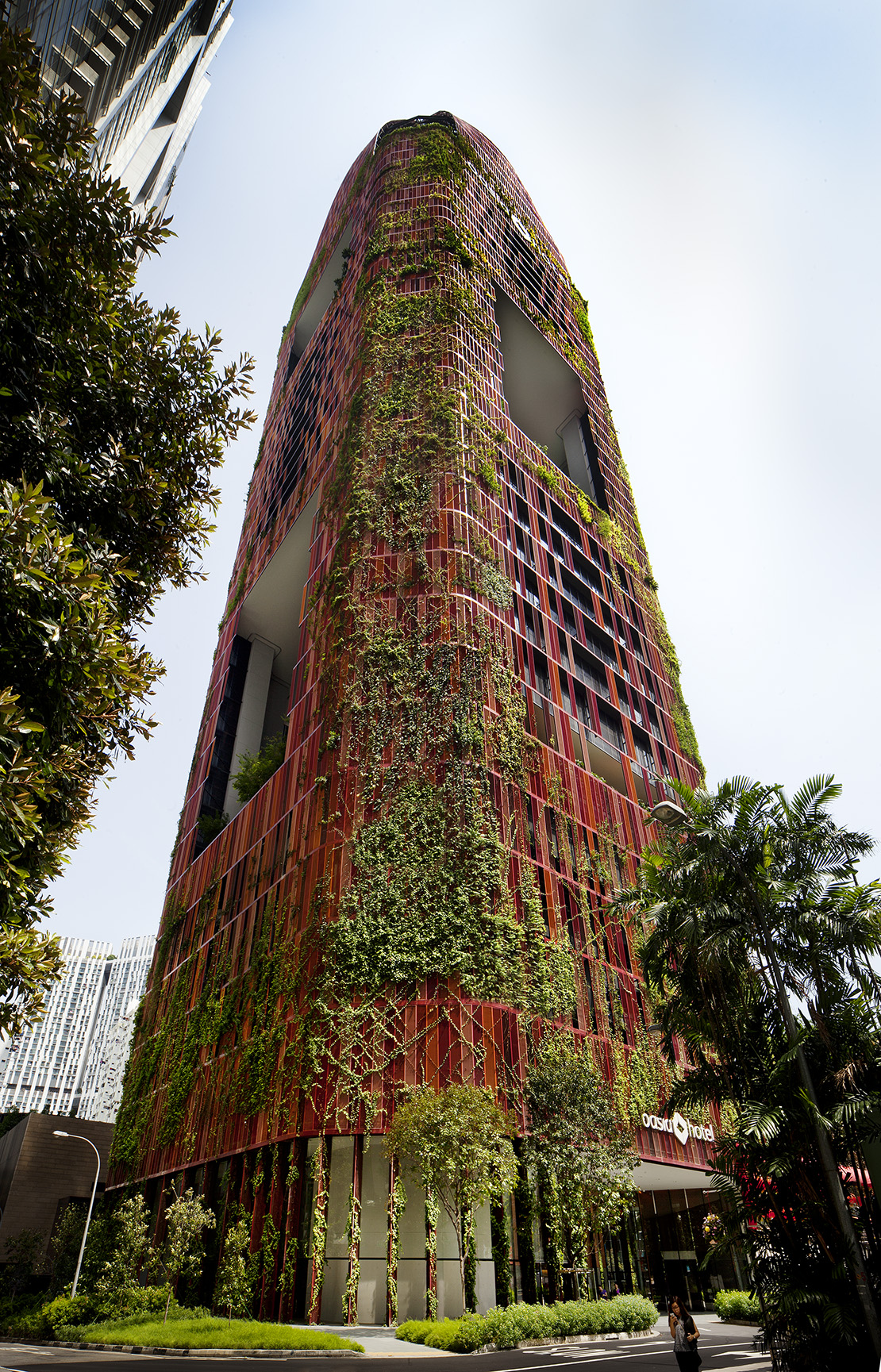 Oasia Hotel Downtown - Architizer