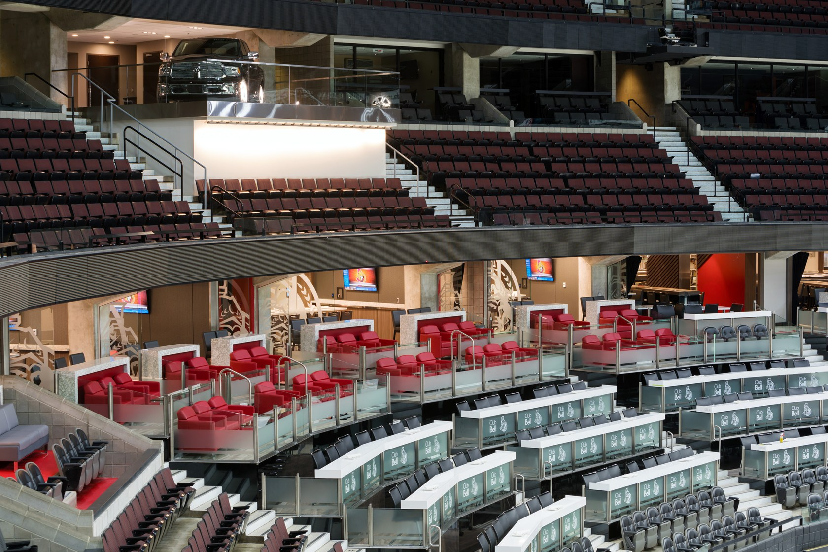 Club Bell Canadian Tire Centre - Architizer