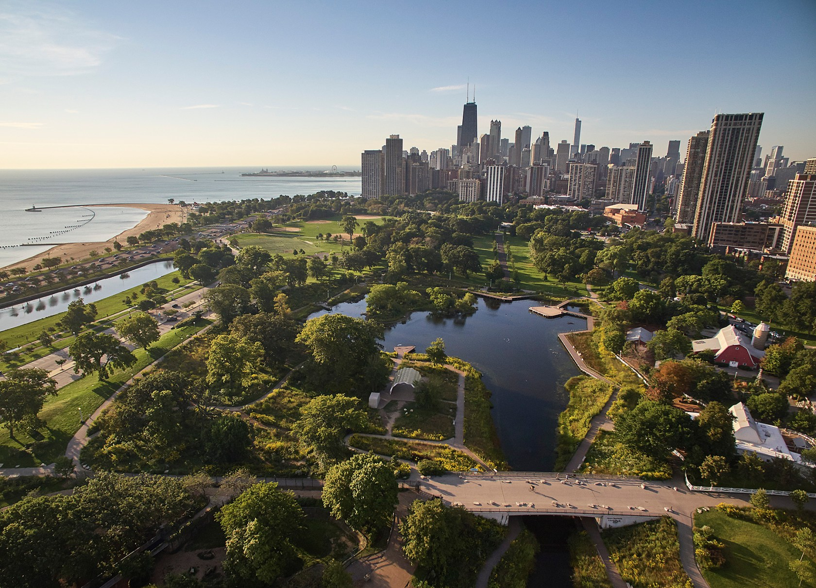 Nature Boardwalk At Lincoln Park Zoo Architizer