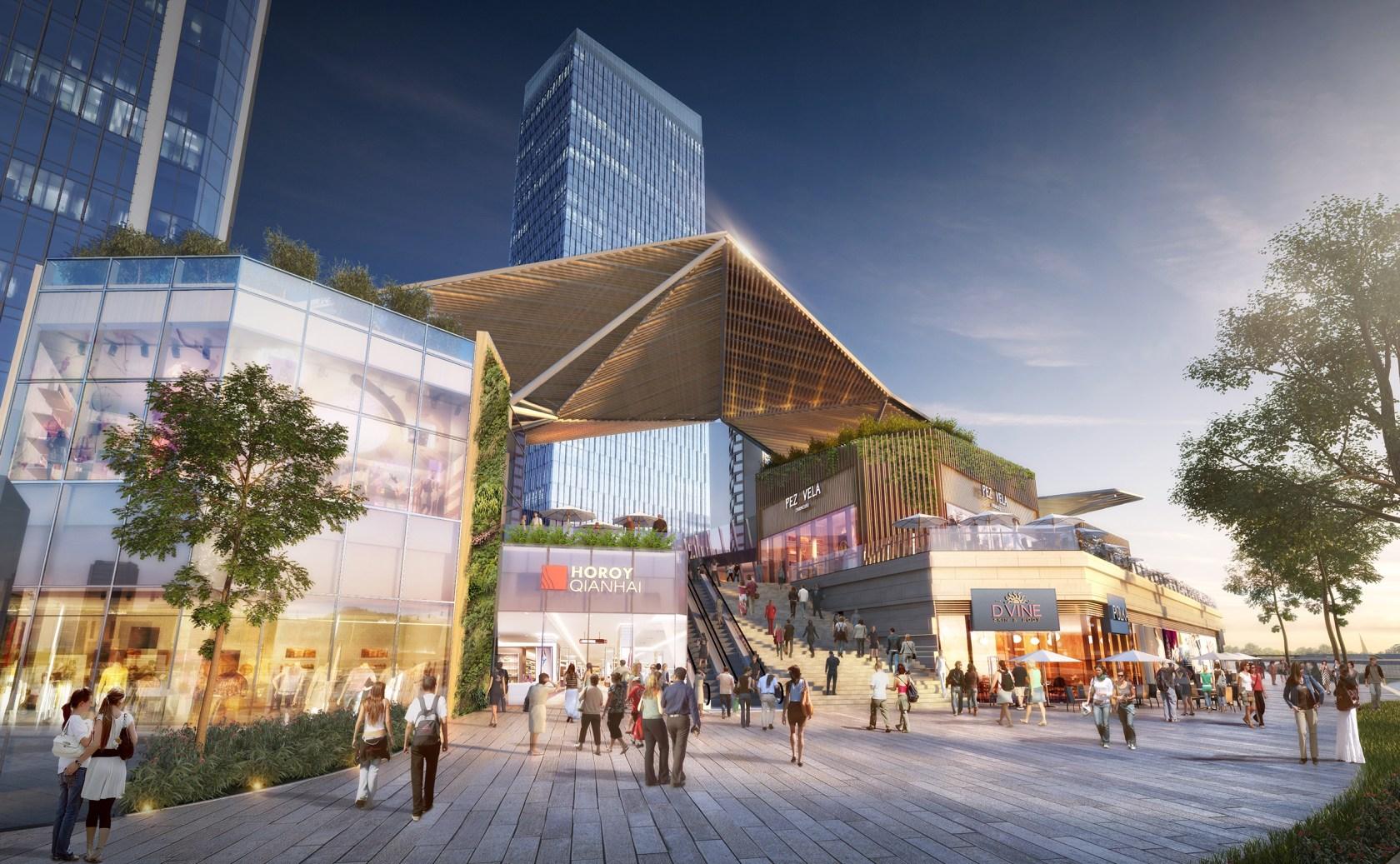 Qianhai Guanze Mixed- Development - Architizer