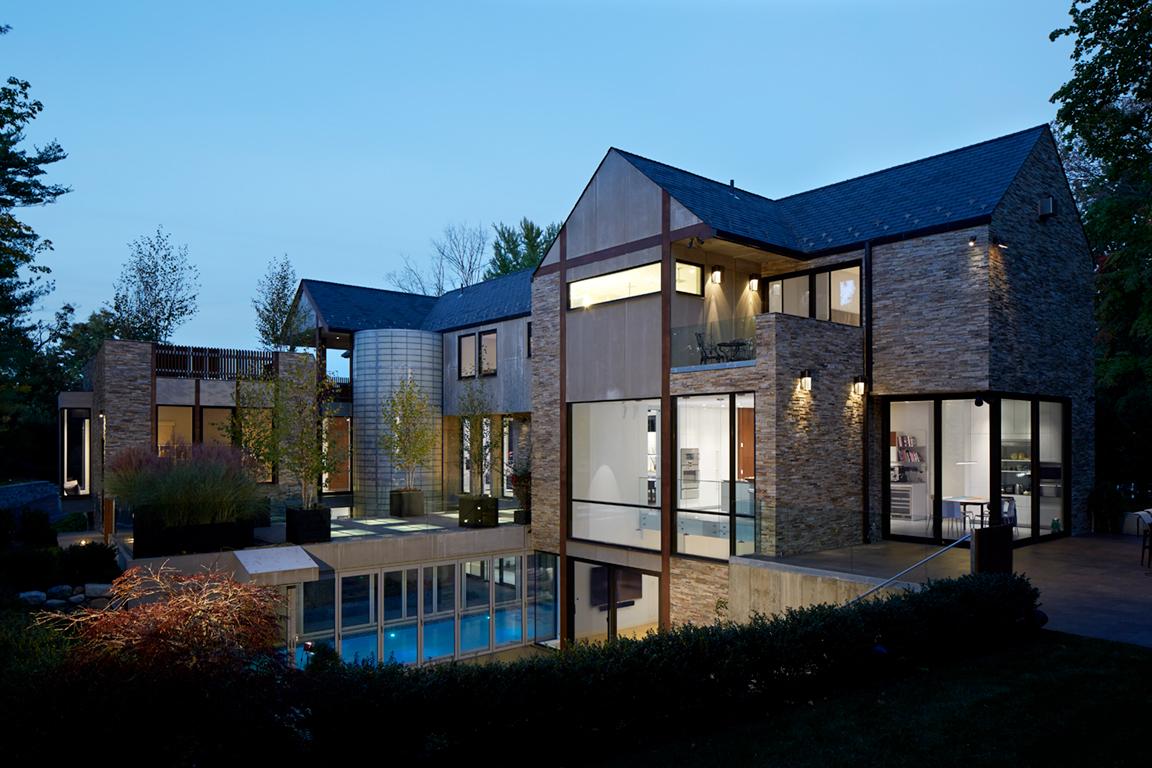 Modern Tudor - Architizer