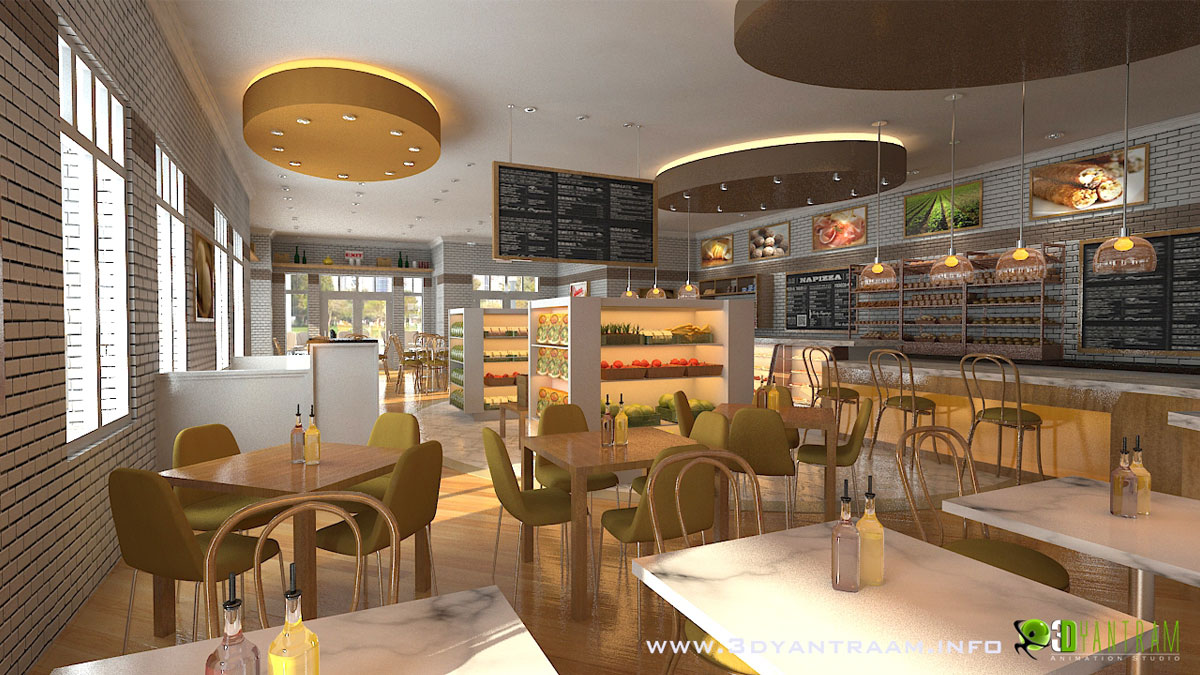 Interesting 3D CGI Design For Food Court  Architizer